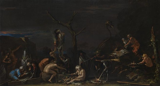 Salvator Rosa-witches at incarnations